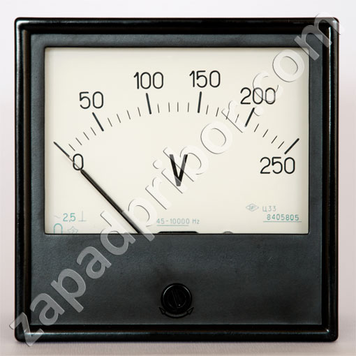 Вольтметры и амперметры Ц33, Ц330, Ц33-М1