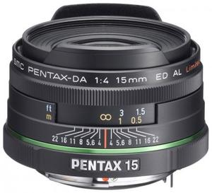 Объектив Pentax SMC DA 15mm f/4 AL Limited