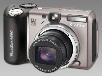 Canon PowerShot A650 IS и PowerShot A720 IS