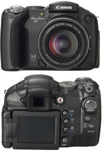 Canon представила камеру PowerShot S3 IS